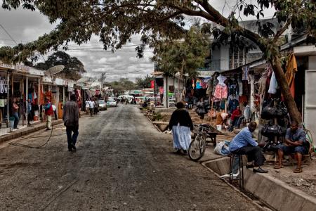 Ruas de Arusha / Streets of Arusha