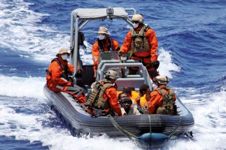 Seenotrettung im Mittelmeer; Foto: ©Bundeswehr/Alexander Gottschalk